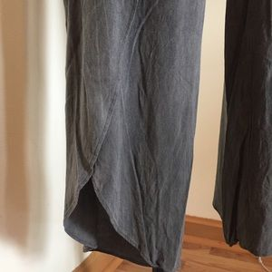 DREW Pants - Drew Split Leg Rayon Pants